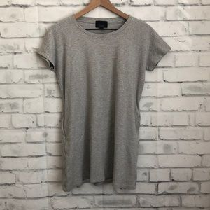 Lumiere grey cotton top